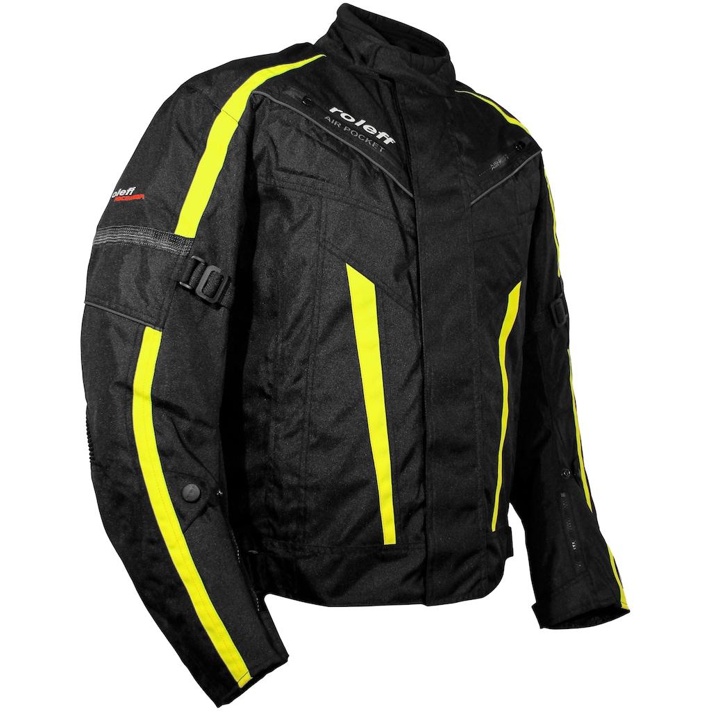 ROLEFF Motorradjacke 4 Taschen