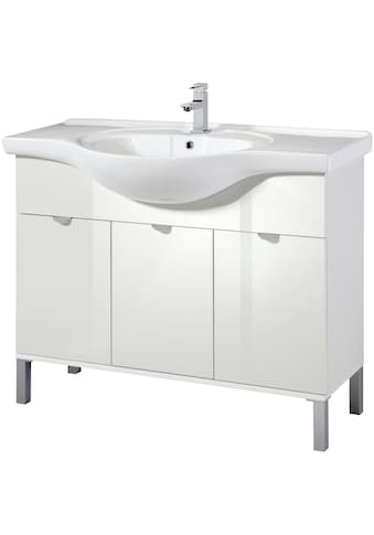 WELLTIME Waschtisch »Malmö«, Waschplatz, 105 cm breit, Bad - Set 2 - tlg. kaufen