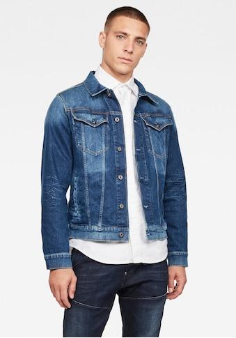 G - Star RAW Jeansjacke »3301 slim jkt« kaufen