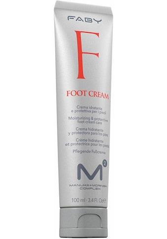 FABY Fußcreme »M2 Foot Cream«, mit Rotalgenextrakt kaufen