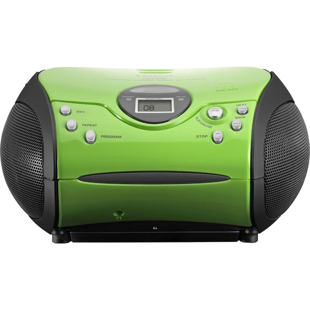 Lenco UKW-Radio »SCD-24 mit CD stereo«