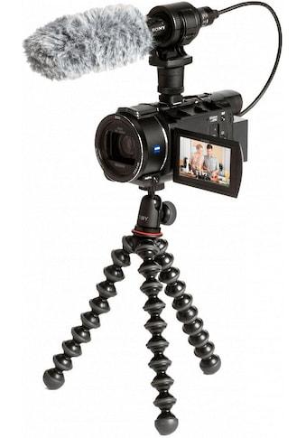 Sony Camcorder »FDRAX53VGPDI.EU«, 4K Ultra HD, NFC-WLAN (Wi-Fi), 20x opt. Zoom, inkl. CG-60 Mikrofon & JOBY GorillaPod kaufen