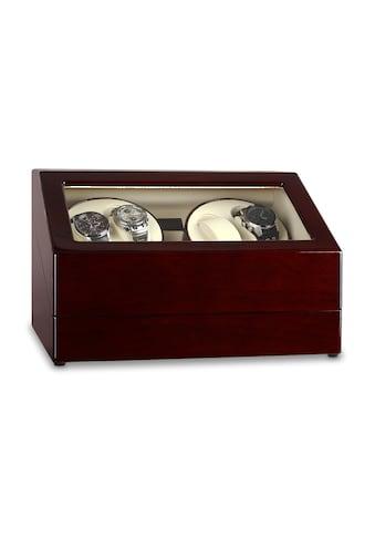 Klarstein Uhrenbeweger Schaukasten 10 Uhren Watch Winder »Old Marshall« kaufen