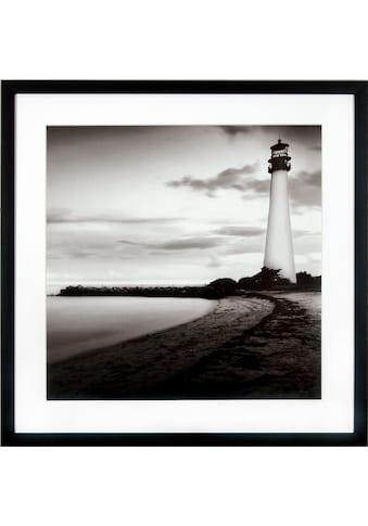 G&C Kunstdruck »Levy: Beach Motiv 1«, 50/50 cm, gerahmt kaufen