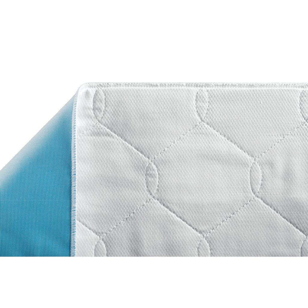 suprima Inkontinenzauflage, Mehrfach-Bettauflage Polyester mit Seitenteilen