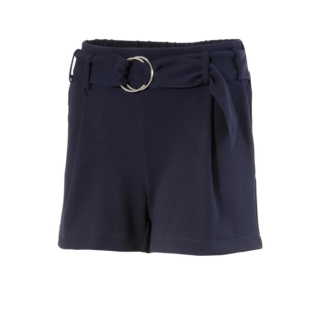 Aniston CASUAL Shorts, in uni, gestreift oder geblümt