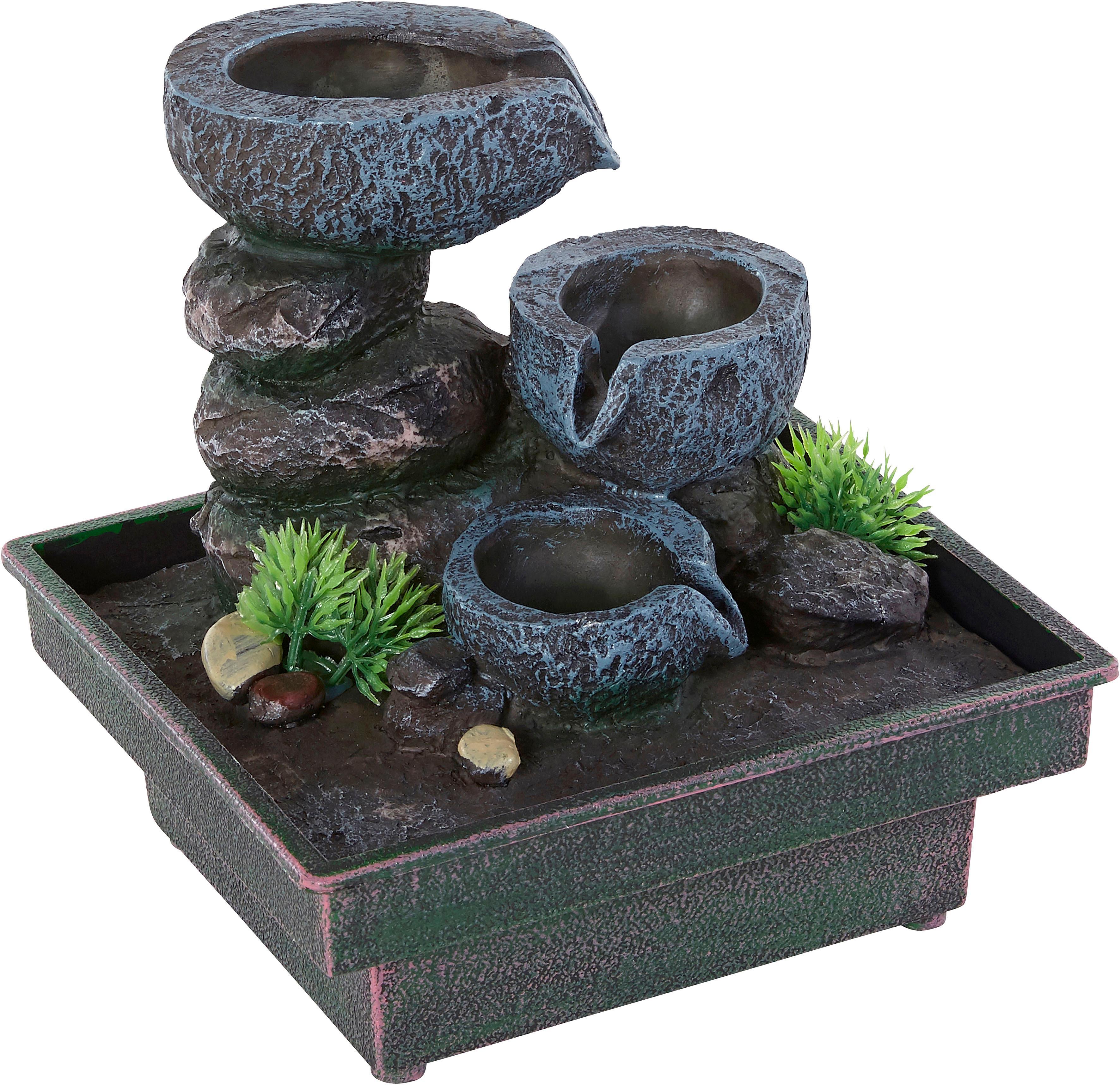 Home affaire Zimmerbrunnen »Floating Stones« | Dekoration > Zimmerbrunnen | home affaire