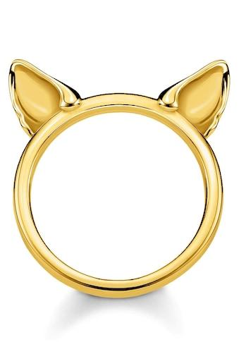 THOMAS SABO Fingerring »Katzenohren gold, TR2260 - 413 - 39 - 48, 50, 52, 54, 56, 58, 60« kaufen