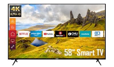 """Telefunken LED-Fernseher »XU58K521«, 146 cm/58 """", 4K Ultra HD, Smart-TV kaufen"""