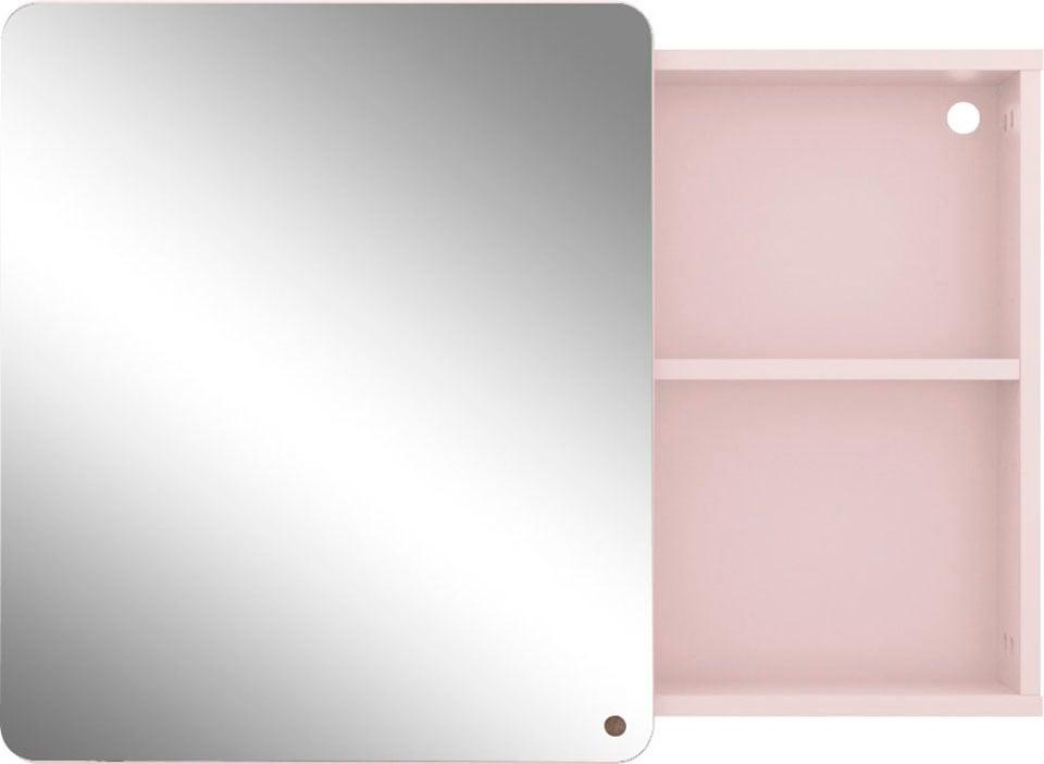 TOM TAILOR Spiegelschrank »COLOR BATH«, mit Spiegeltür & offenem Regal, Breite 80 cm