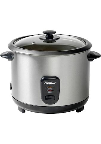 bestron Reiskocher »ARC180«, mit Dampfgar-Aufsatz und Warmhalte-Funktion, 1,8 Liter,... kaufen