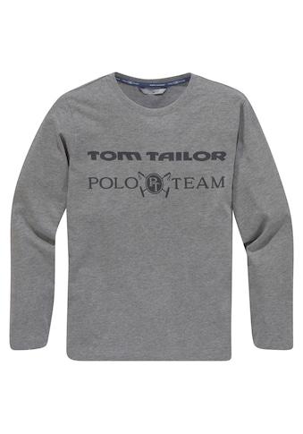 TOM TAILOR Polo Team Rundhalsshirt kaufen