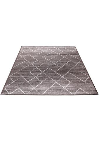 Living Line Teppich »Clara Geometrisch«, rechteckig, 4 mm Höhe, Vintage Design,... kaufen