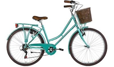 KS Cycling Cityrad »Stowage«, 6 Gang, Shimano, Tourney Schaltwerk, Kettenschaltung kaufen