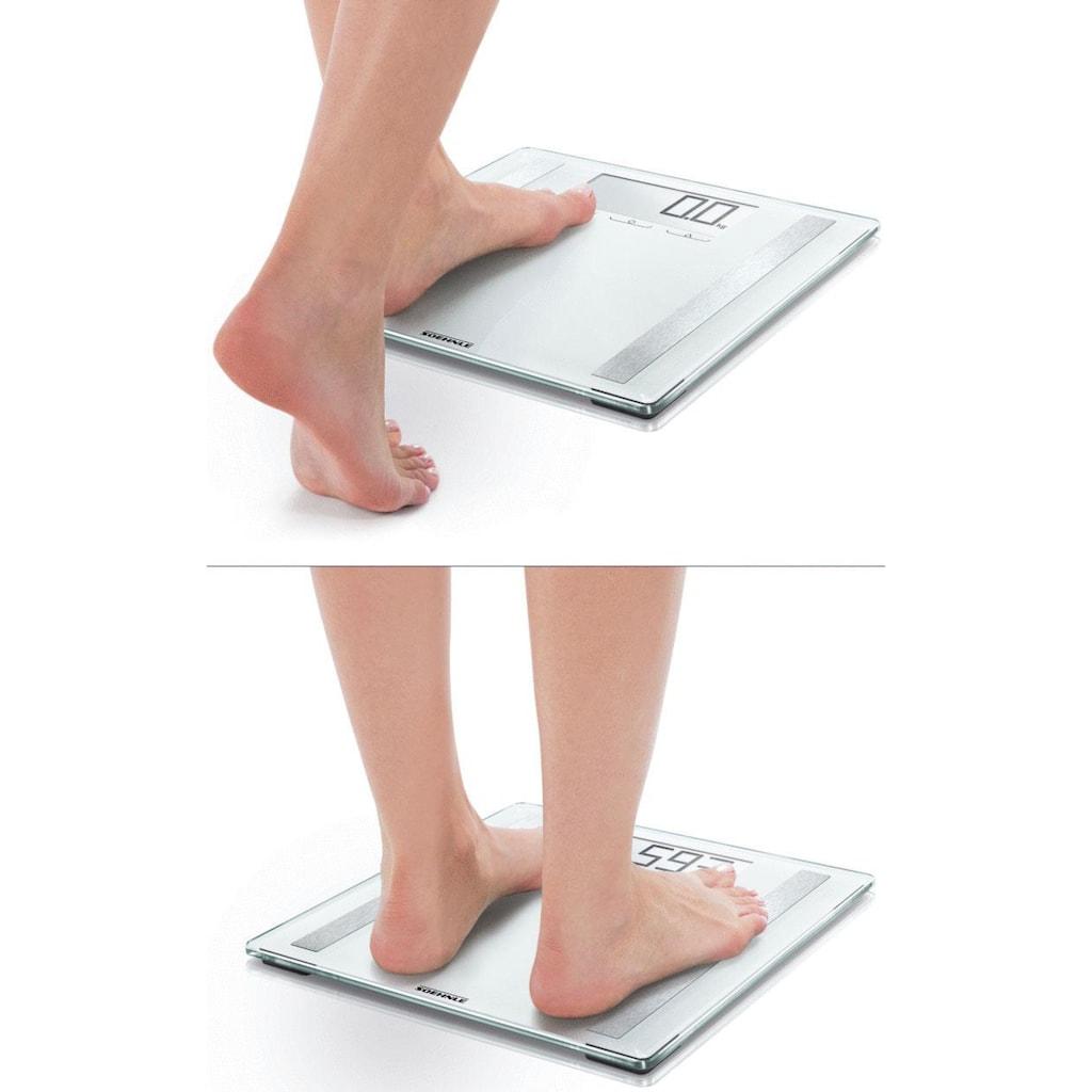 Soehnle Körper-Analyse-Waage »PWD Shape Sense Control 200«, Körper-Analysewaage für Fitness-Einsteiger