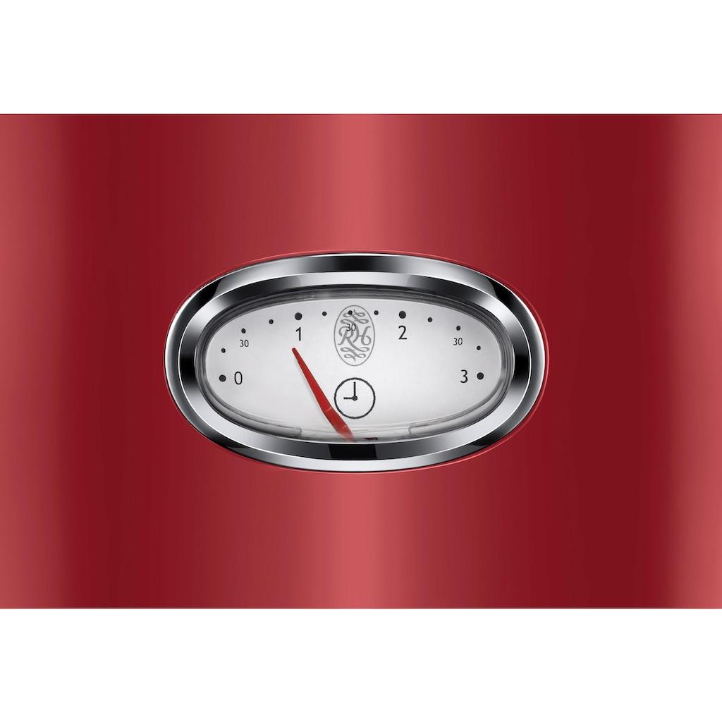RUSSELL HOBBS Toaster »21680-56«, 2 kurze Schlitze, 1300 W, Retro Ribbon Red