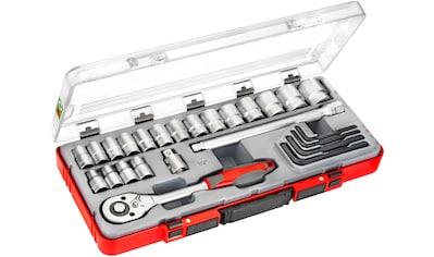 Connex Steckschlüsselsatz »COX580225«, 25 - tlg. kaufen