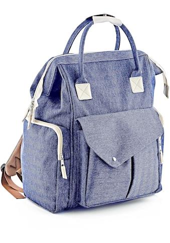 Babyjem Wickeltasche »multifunktional, blau«, Made in Europe kaufen
