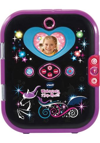 Vtech® Elektronisches Tagebuch »KidiSecrets Selfie Music 2.0, black« kaufen