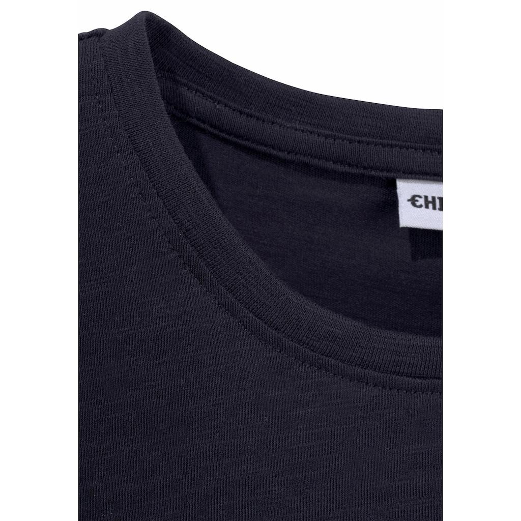 Chiemsee T-Shirt, mit Logodruck vorn