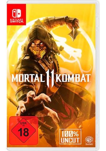 Warner Games Spiel »Mortal Kombat 11«, Nintendo Switch kaufen