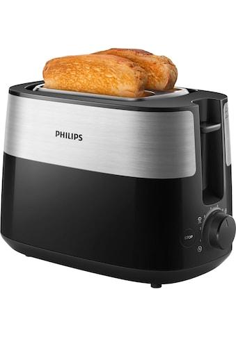 Philips Toaster »Daily Collection HD2516/90«, 830 Watt kaufen