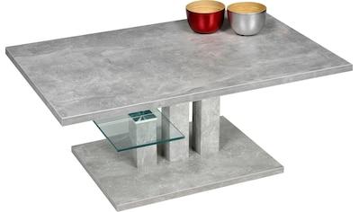PRO Line Couchtisch »Bergamo«, Glasablageboden kaufen