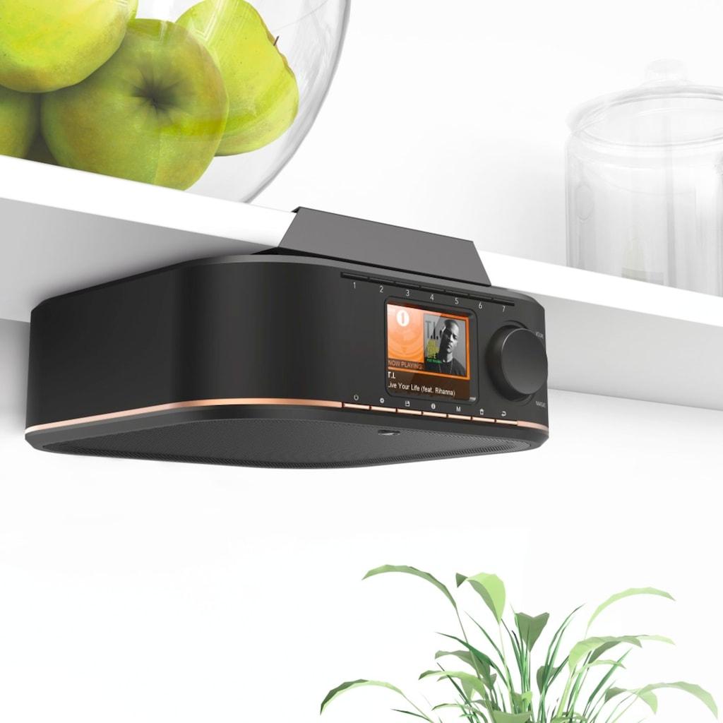 Hama DAB Radio, Digitalradio, digitales Unterbauradio für Küche