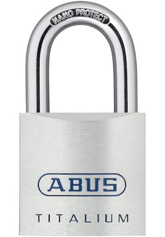ABUS Vorhängeschloss »80TI/50 - 70 «, Spezialaluminium, 6 - Stift - Präzisionszylinder und Stahlbügel kaufen