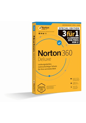 Norton Virensoftware »Box-Pack 1 Jahr - 3 Gerätete« kaufen