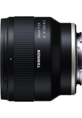Tamron Weitwinkelobjektiv »AF 24mm F/2.8 Di III OSD 1/2 MACRO (für SONY)« kaufen