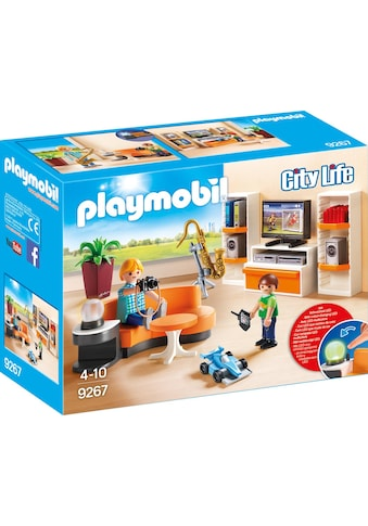Playmobil® Konstruktions-Spielset »Wohnzimmer (9267), City Life«, Made in Germany kaufen