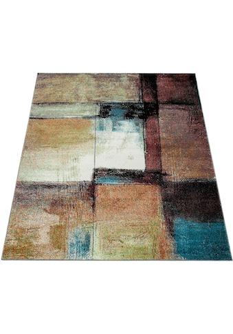 Paco Home Teppich »Gala 423«, rechteckig, 14 mm Höhe, Industrie Look, Wohnzimmer kaufen