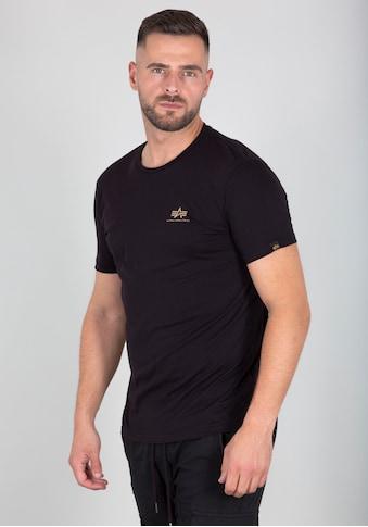 Alpha Industries Rundhalsshirt »Back Tee Camo Print« kaufen
