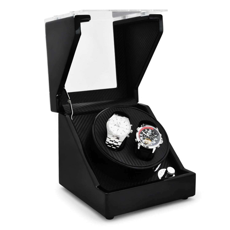 Klarstein Uhrenbeweger Uhrendreher Watch Winder Uhrenvitrine 2 Uhren »CA1PB« | Uhren > Uhrenbeweger | Mehrfarbig | KLARSTEIN