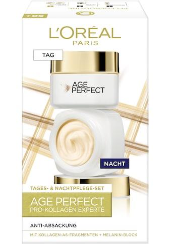 L'ORÉAL PARIS Gesichtspflege-Set »Age Perfect Pro-Kollagen Tag & Nacht«, (2 tlg.) kaufen