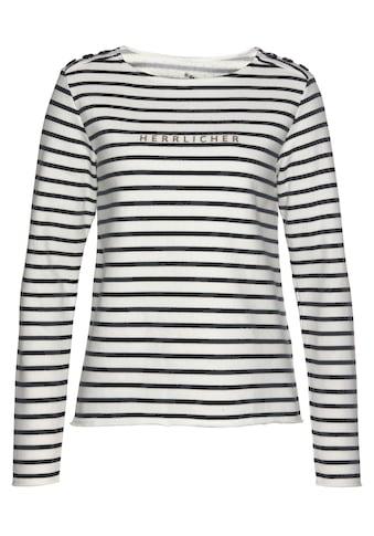 Herrlicher Sweatshirt »BIRGET« kaufen