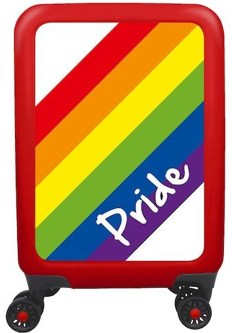 meinTrolley Hartschalen-Trolley »Pride, 55 cm«, 4 Rollen, mit 4 Doppelrollen, Made in... kaufen