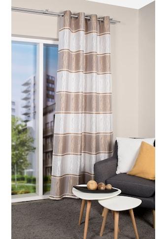 HOME WOHNIDEEN Vorhang »LUEY«, Mit Glanzgarn kaufen