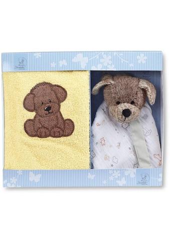 Sterntaler® Schmusetuch »Hanno II«, mit Kinderhandtuch kaufen