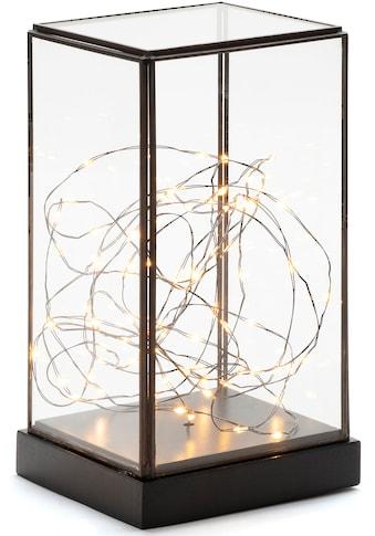 KONSTSMIDE LED Laterne, LED-Modul, 1 St., LED Glaslaterne rechteckig mit schwarzem... kaufen