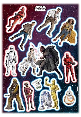KOMAR Wandtattoo »Star Wars Heroes Villains«, selbsthaftend, rückstandslos abziehbar kaufen