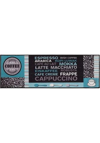 Küchenläufer, »Cafe Creme«, Andiamo, rechteckig, Höhe 4 mm, maschinell getuftet kaufen