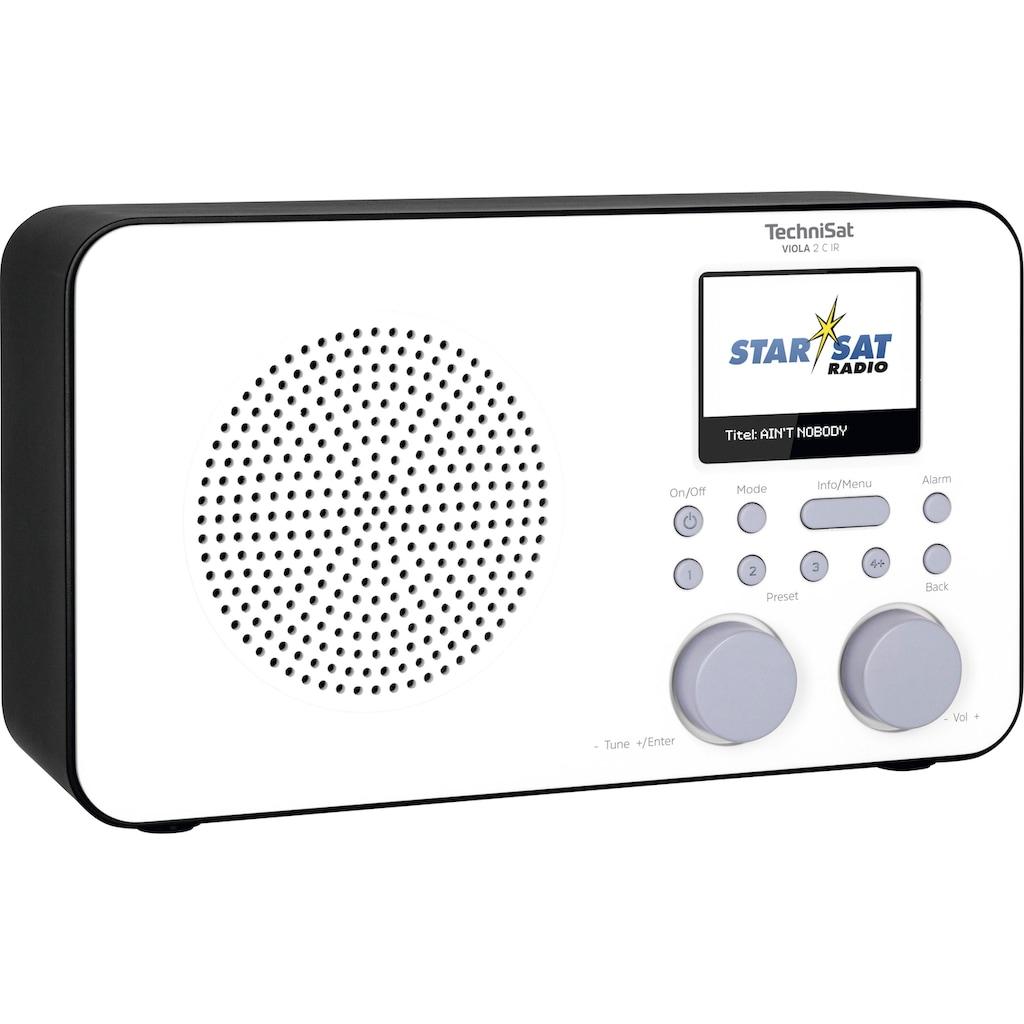 TechniSat Internet-Radio »VIOLA 2 C IR Tragbares«, (WLAN Digitalradio (DAB+)-UKW mit RDS-Internetradio), mit DAB+, Farbdisplay, Akku