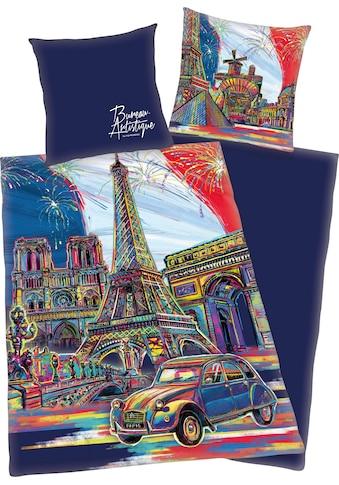 Jugendbettwäsche »Paris«, mit Paris Motiv kaufen