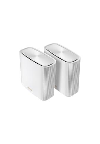 Asus WLAN-Router »2in1 Mesh Zugangspunkte-Set«, ZenWiFi AX (XT8) AX6600 2er Set kaufen