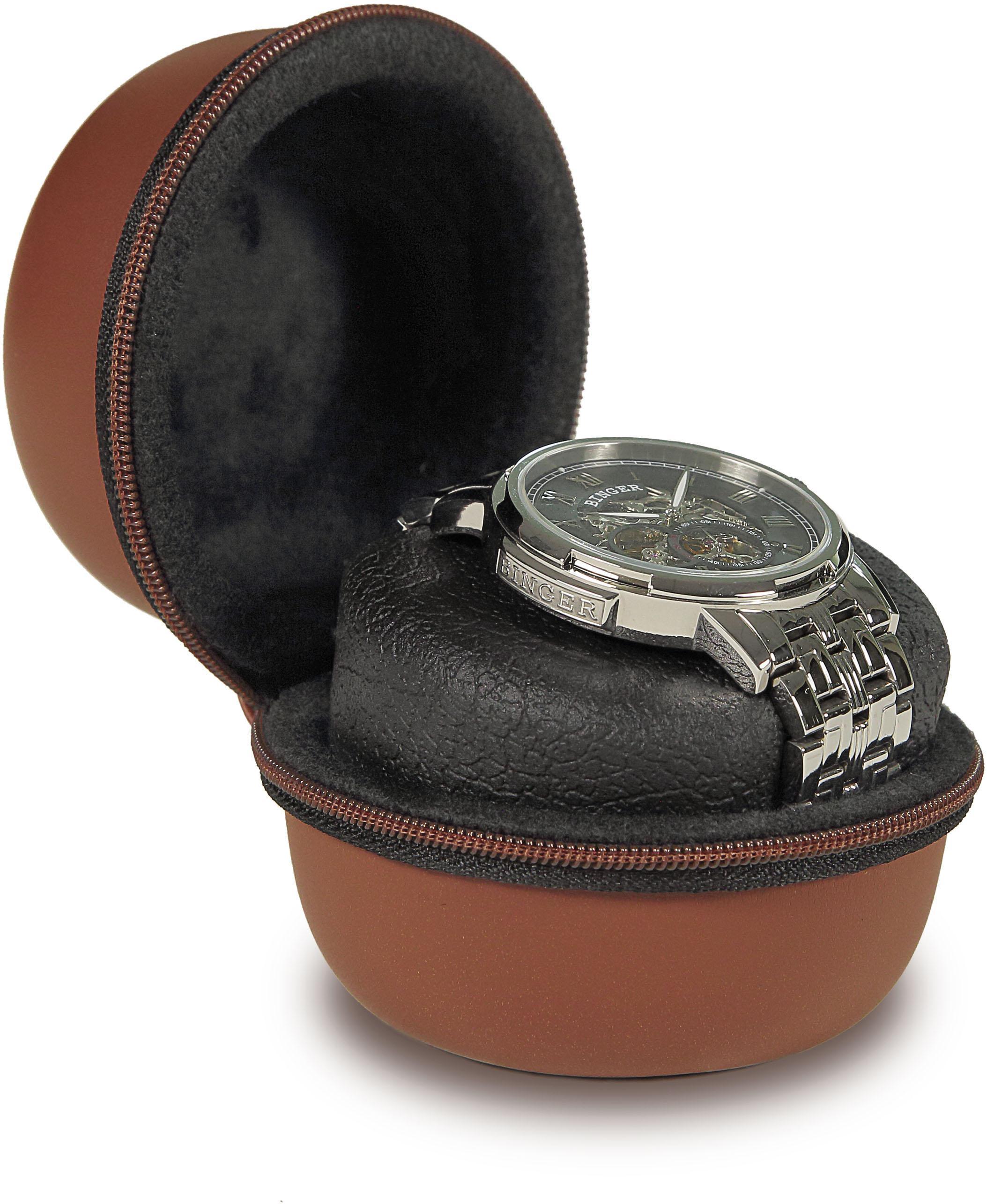 Boxy Uhrenetui »324173« | Uhren > Uhrenboxen | Braun | BOXY