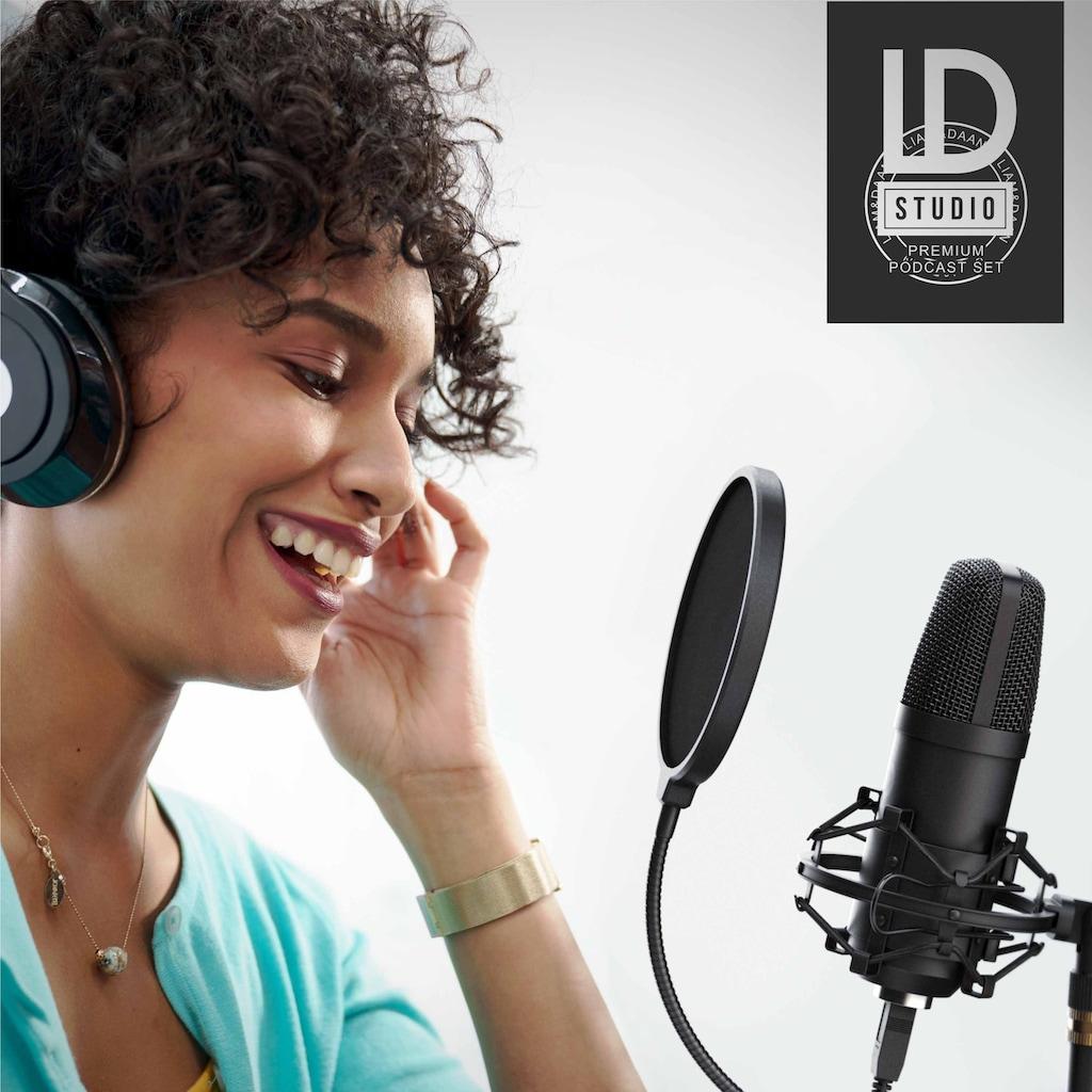 LIAM&DAAN Profi Podcast Set - USB Studiomikrofon