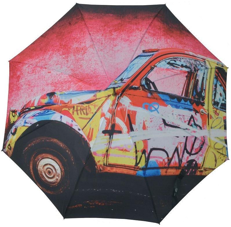 doppler® Regenschirm, »Stockschirm LS Automatik California« | Accessoires > Regenschirme > Stockschirme | Mehrfarbig | Polyester | DOPPLER