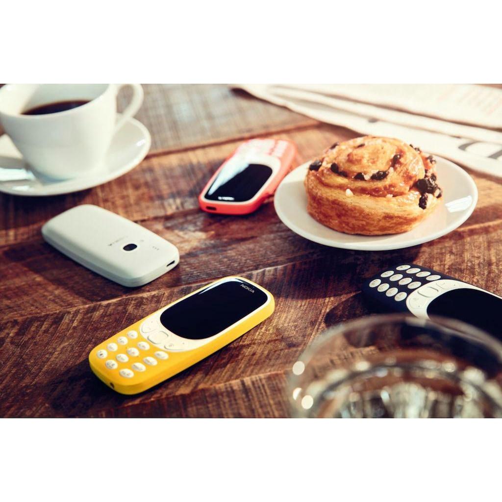 "Nokia Handy »3310 retro Dual SIM«, (6,1 cm/2,4 "", 16 GB Speicherplatz, 2 MP Kamera)"